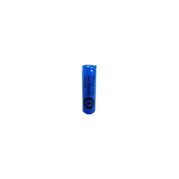 NiCD battery AA 800 mAh flat head - 1,2V - Evergreen