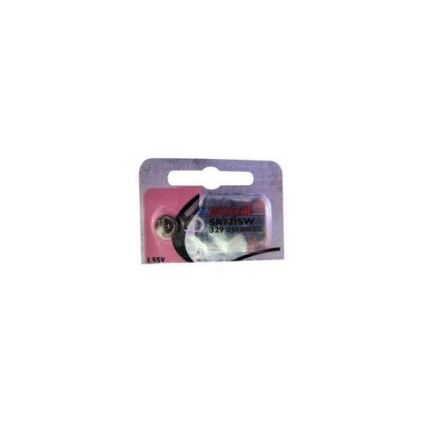 Button cell battery SR731 / 329 - 1,55V - silver oxyd - Maxell