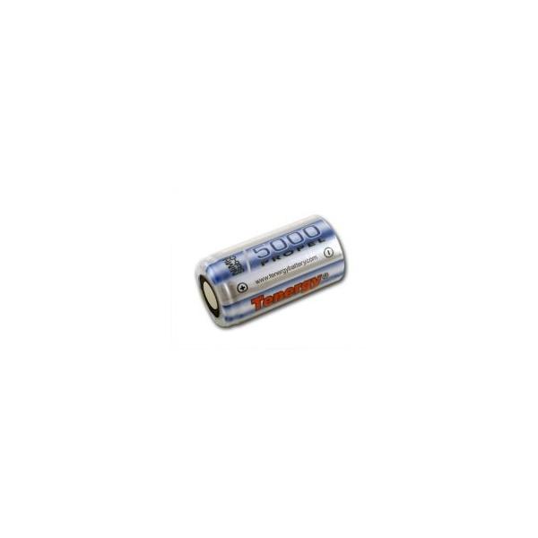 NiMH battery Sub C 5000 mAh no tab - 1,2V - Tenergy