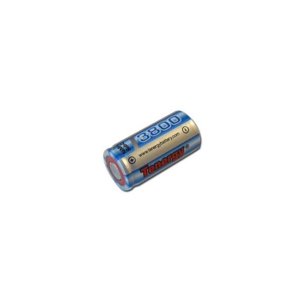 NiMH battery Sub C 3800 mAh no tab - 1,2V - Tenergy