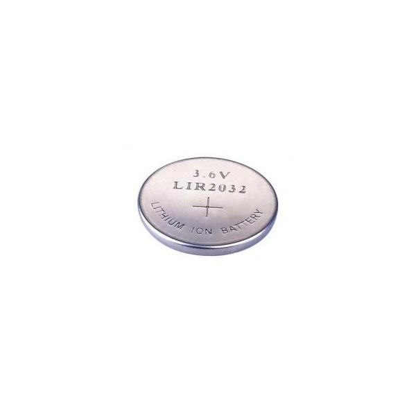 Button cell battery Li-Ion LIR 2032 - 3,6V