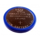 Button cell battery Li-Ion LIR 2450 - 3,6V