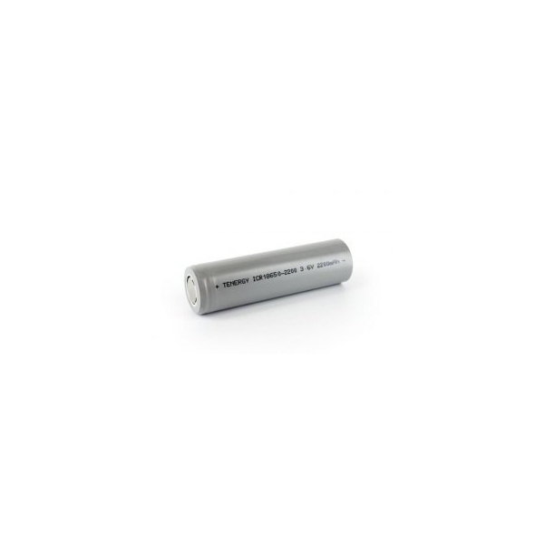Battery Li-Ion 18650 - 3,6V - 2200 mAh with Tabs