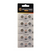 AG7 10 button cell battery AG7 / LR927 / 395 1,5V Cellectron