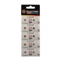 SR521 10 Silver Oxide battery SR521 / SR63 / 379 1,55V Cellectron