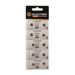 SR621 10 Silver Oxide battery SR621 / SR60 / 364 1,55V Cellectron