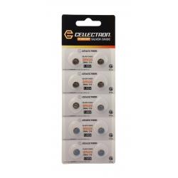 SR626 10 Silver Oxide battery SR626/ SR66/ 376 1,55V Cellectron