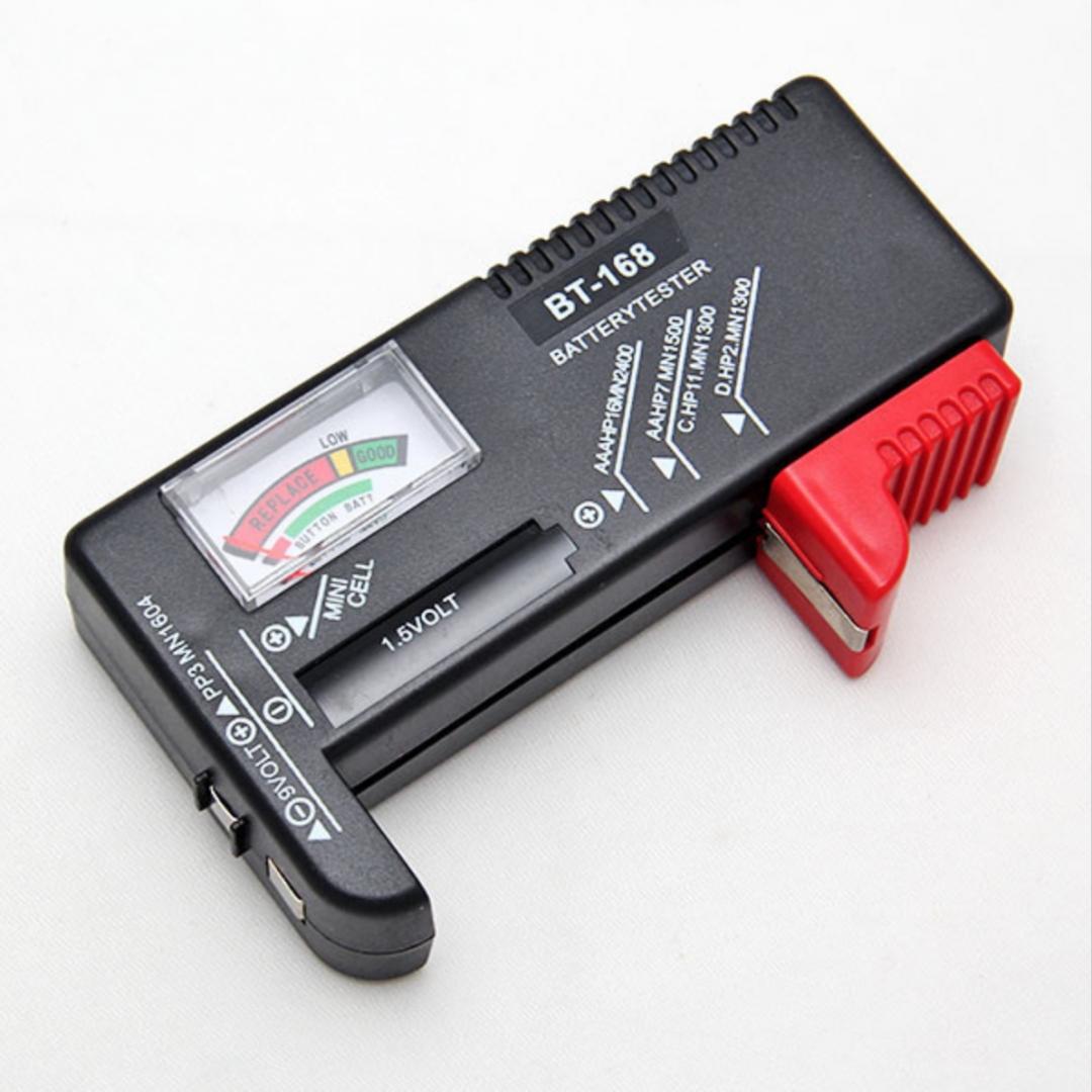 Universal Battery Tester Aa Aaa C D 9v Button Checker