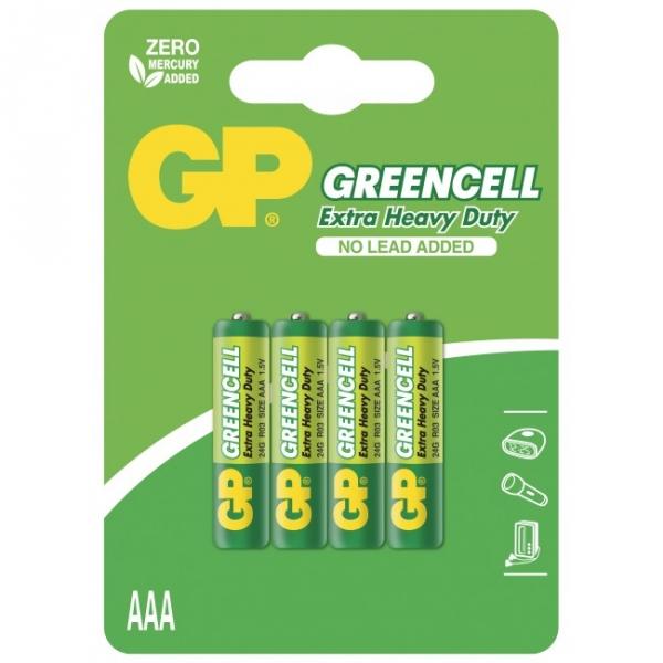 Extra heavy duty battery 4 X AAA / R03 - 1,5V
