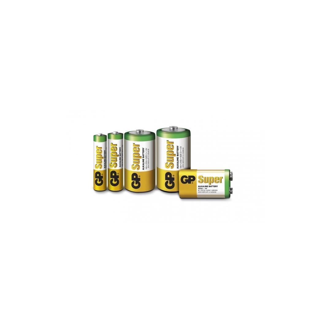 Alkaline battery 4 x AA / LR6 - 1,5V - GP Battery
