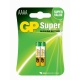 Alkaline battery 2 x AAAA / LR61 SUPER - 1,5V - GP Battery