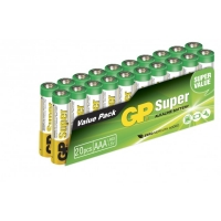 Alkaline battery 20 x AAA / LR03 SUPER - 1,5V - GP Battery