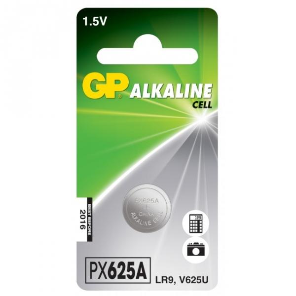 Alkaline button cell battery 1 x GP 625A / LR9 / V625U - 1,5V - GP Battery