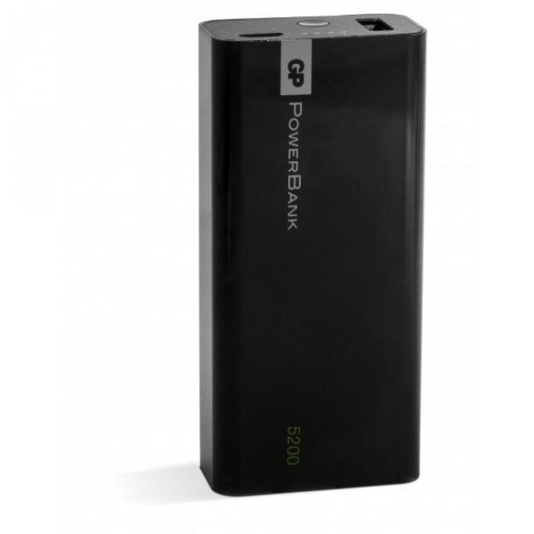 Powerbank Yolo 5200 mAh, 1C05A, black