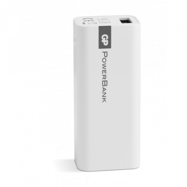 Powerbank Yolo GP 1C02A 2600mAh In 1A / Out 1A / Li-Ion white