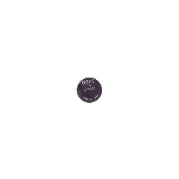 Lithium button cell battery CR2430 - 3V