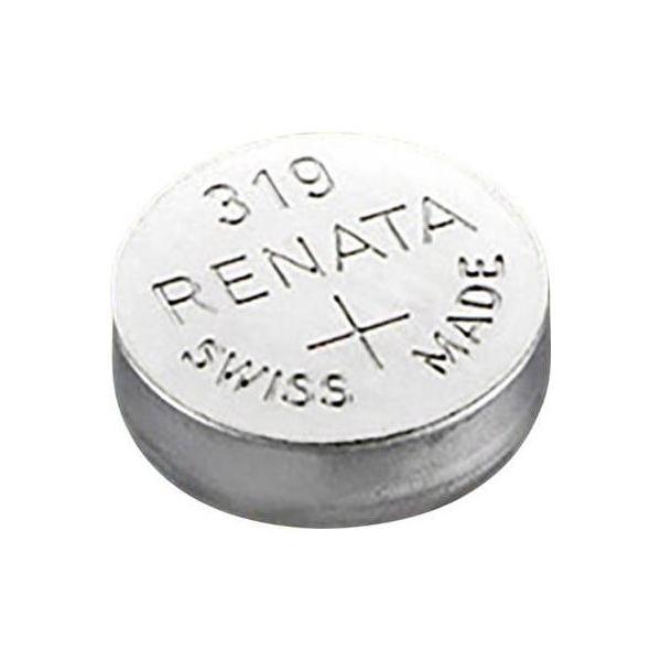 Button cell battery SR64 / 319 - 1,55V - silver oxyd - Renata