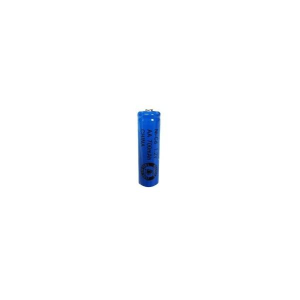 NiCD battery AA 700 mAh button top - 1,2V - Evergreen