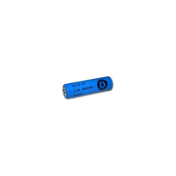 NiCD battery AA 800 mAh button top - 1,2V - Evergreen