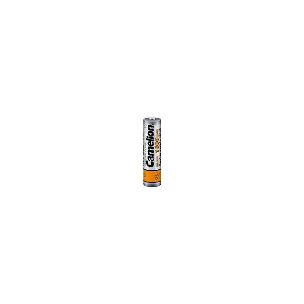 NiMH battery AAA 1000 mAh button top - 1,2V