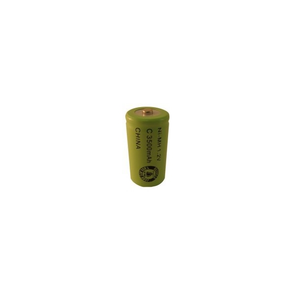 NiMH battery C 3500 mAh button top - 1,2V - Evergreen