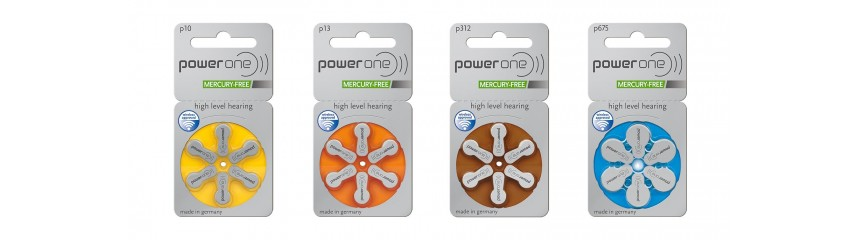 Hearing aid batteries 1,4V