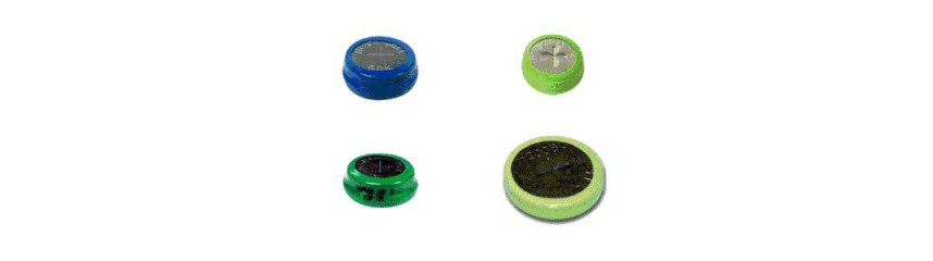 Button cell batteries, NiMH