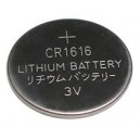 Lithium button cell battery CR1616 - 3V - Evergreen